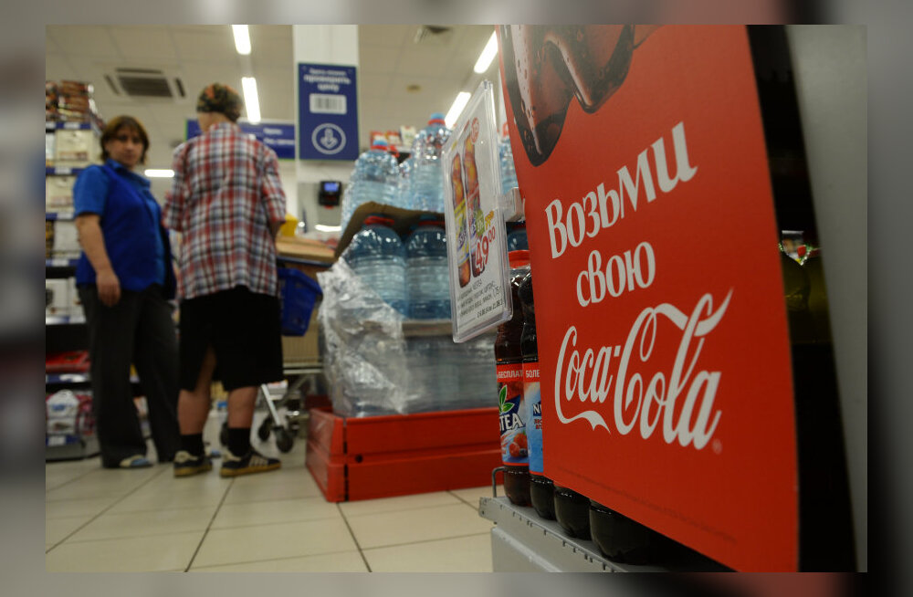 """""""Keemiarelvad"""" Coca-Cola ja Pepsi-Cola pääsesid Venemaa sanktsioonidest"""