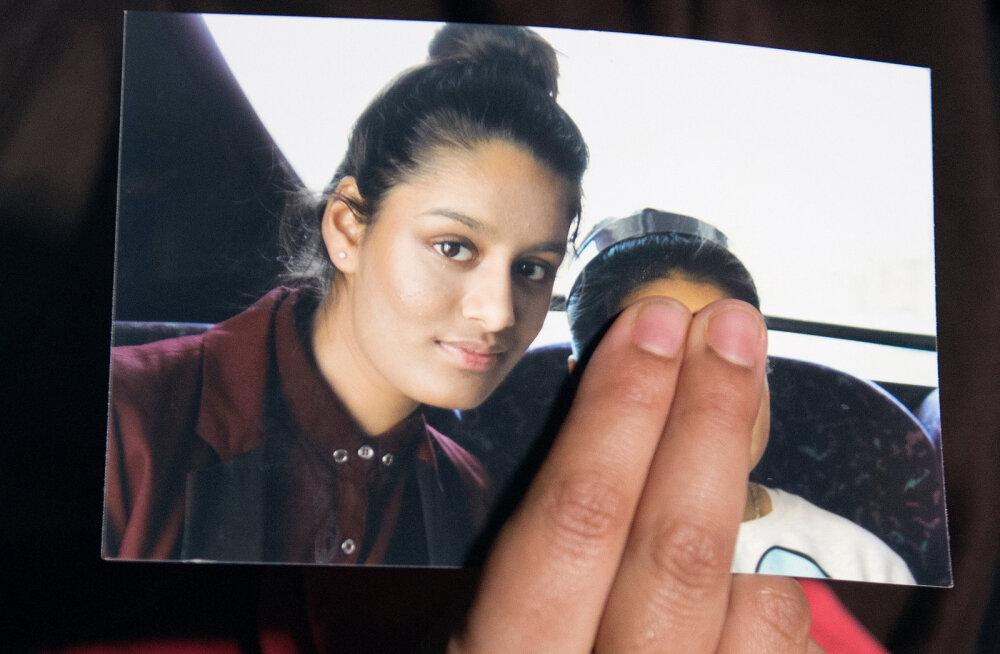 Tüdruk, kes pages 15-aastasena Süüriasse, sünnitas lapse ja tahab Londonisse naasta