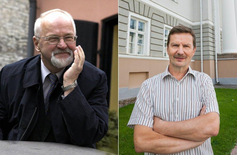 Peeter Tulviste ja Volli Kalm