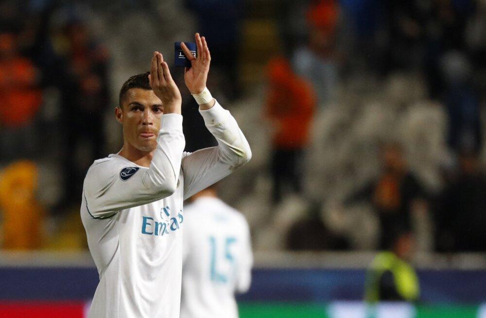 Hispaania meedia: Ronaldo peab PSG-ga salaläbirääkimisi