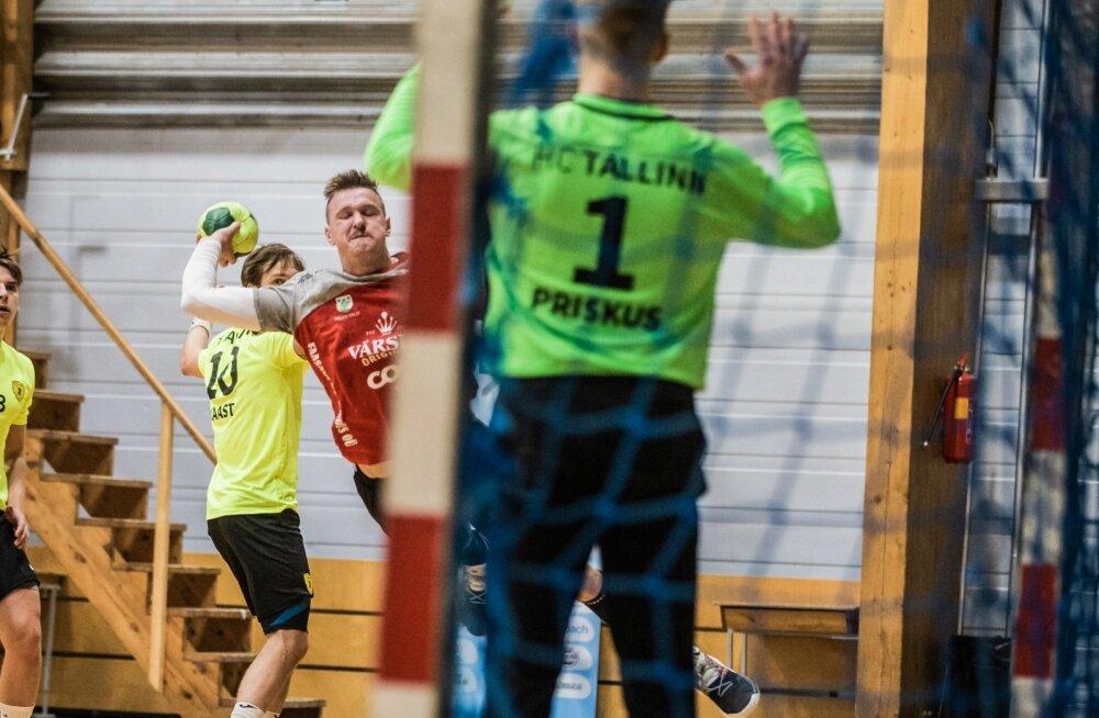 HC Tallinna väravavaht Armis Priskus tegi suurepärase mängu