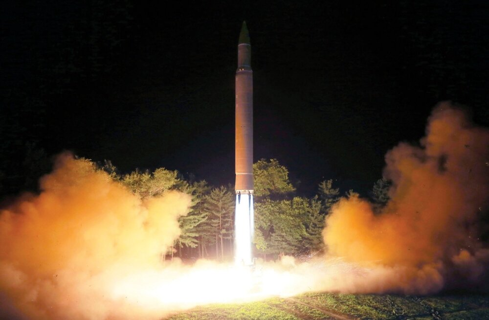 Põhja-Korea raketikatsetus
