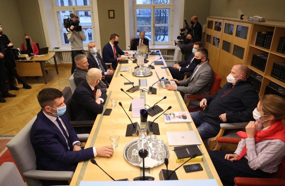Opositsioon lahkus põhiseaduskomisjoni veebiistungilt