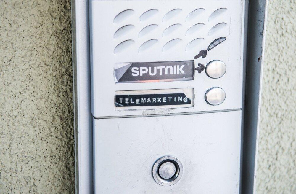 Selline silt viitas mõne aasta eest Sputniku toimetusele majal Tallinnas Paavli 1 / Kopli 33.