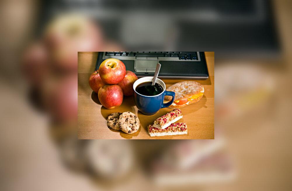 Püüa kiirtoitu pigem vältida ja leida aega tasakaalustatud toitumise jaoks