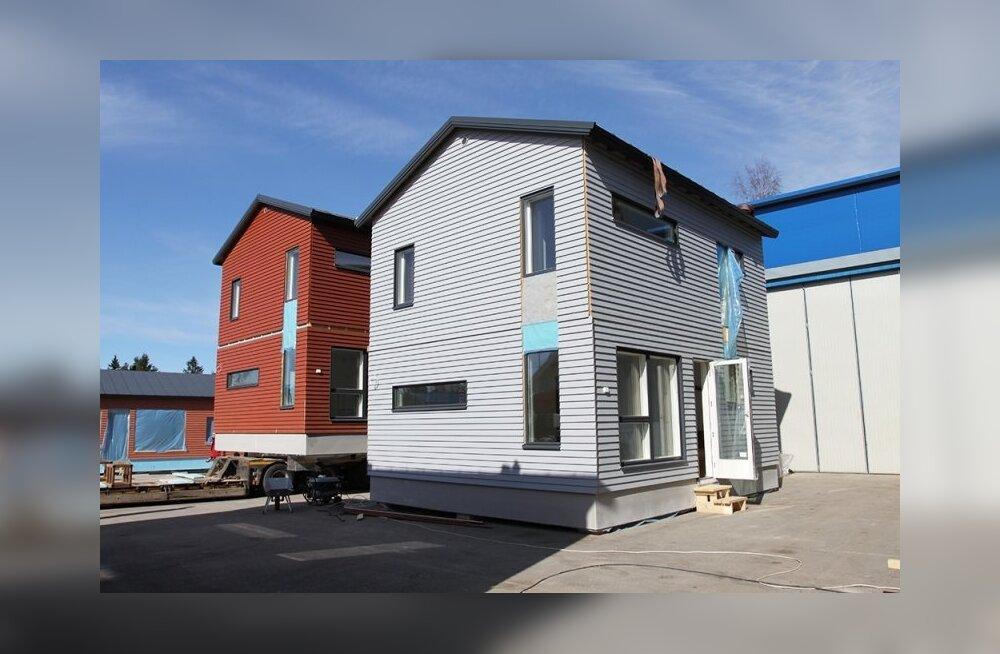 Akso-Haus toodab kaasaehitatud vundamendiga moodulmaju