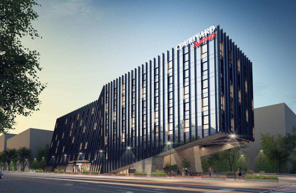 ФОТО: Сколько стоит номер в самой новой гостинице Вильнюса