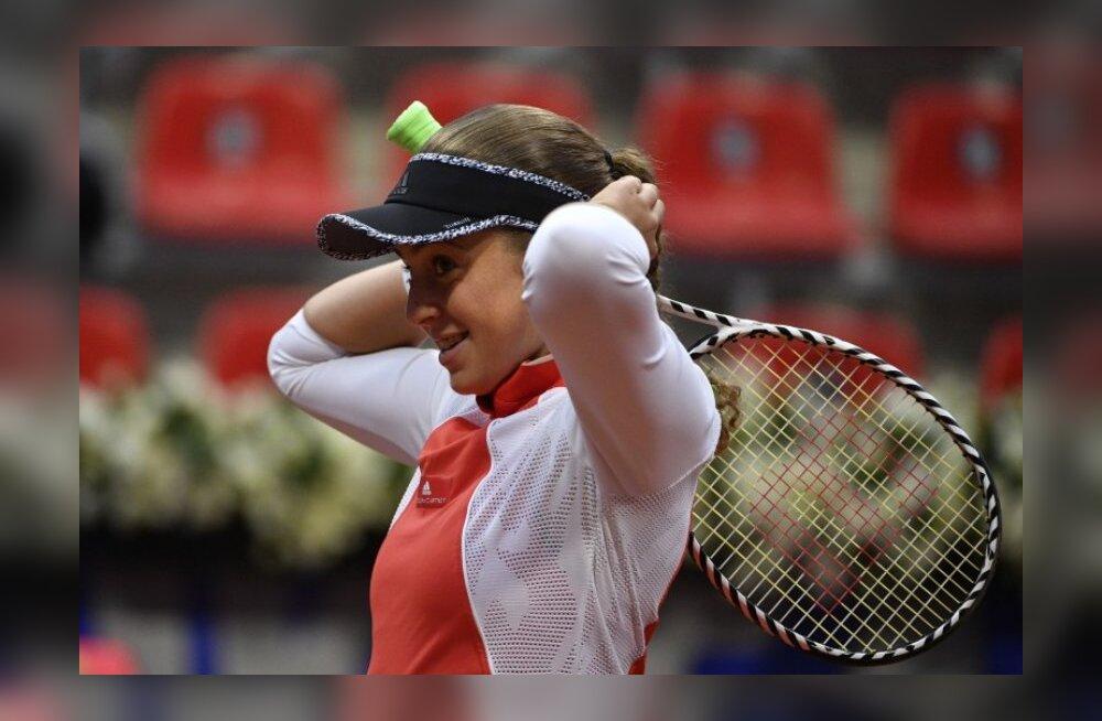 FOTOD | Läti esireket alustas Jurmala WTA turniiri ülikindla võiduga, Ostapenko kaotas sama kindlalt
