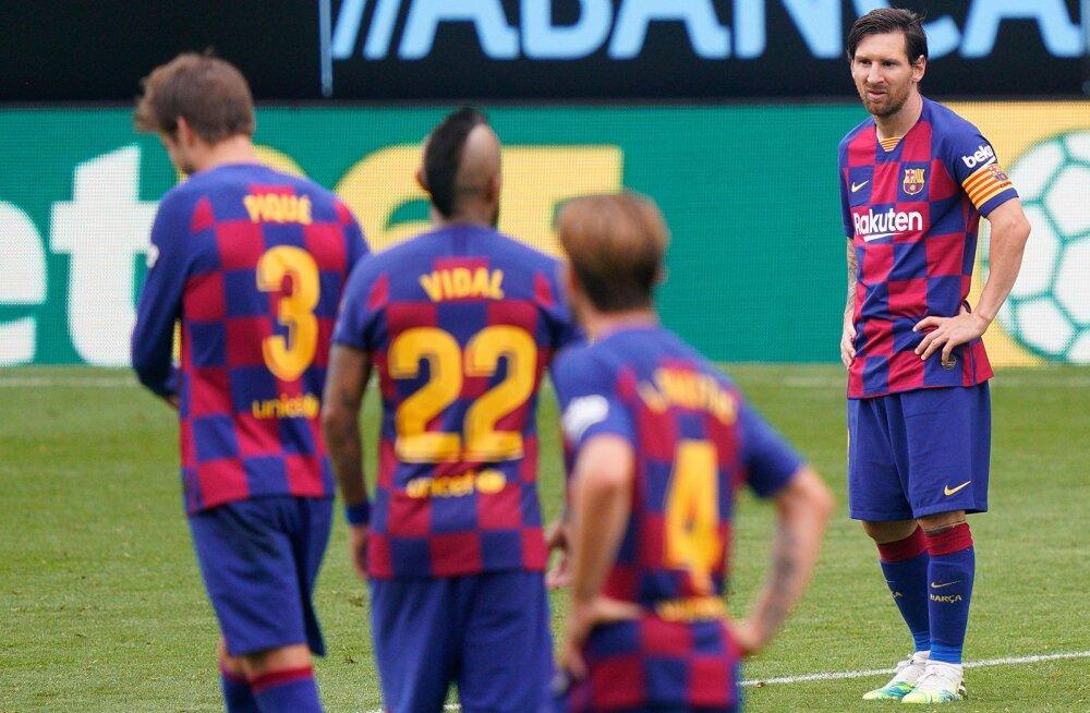 VIDEO | Barcelona kaotas punkte, Realil võimalus tõusta liidriks