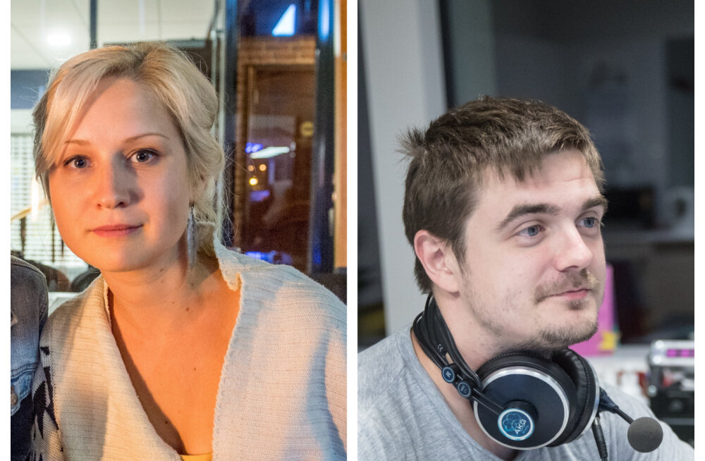 """""""Padjaklubi"""" Katariina Ratassepp ja raadioajakirjanik Taavi Libe panevad leivad ühte kappi?"""