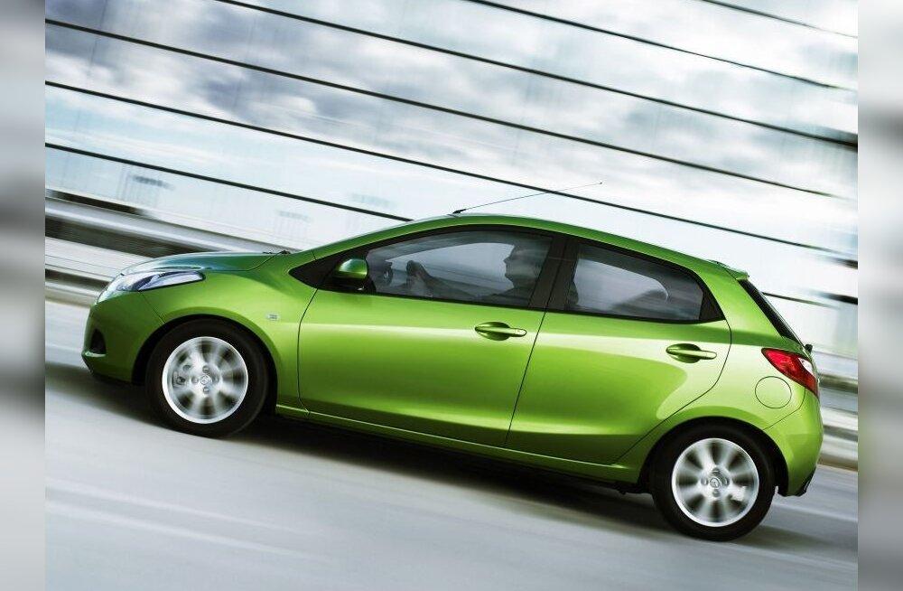 Uus Mazda2 Genfi autonäitusel