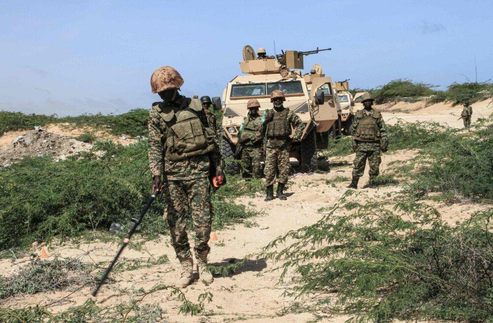 Somaalias toimus kaks enesetapurünnakut NATO vägede vastu