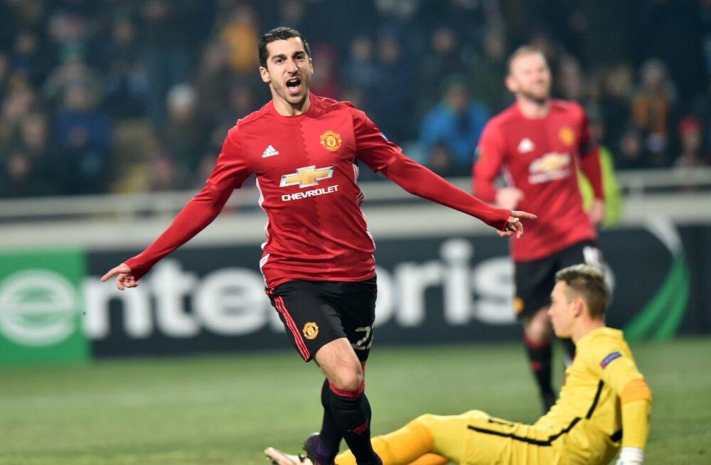 VIDEO: Armeenlane lõi Manchester Unitedis esimese värava. Ja veel millise!