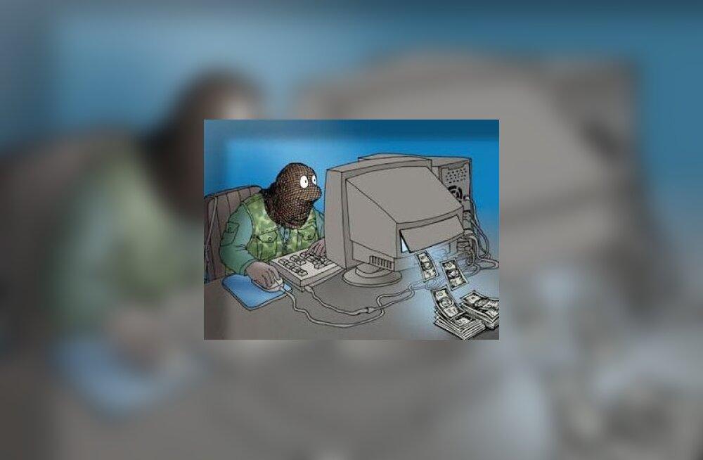 arvuti, raha, rünnak
