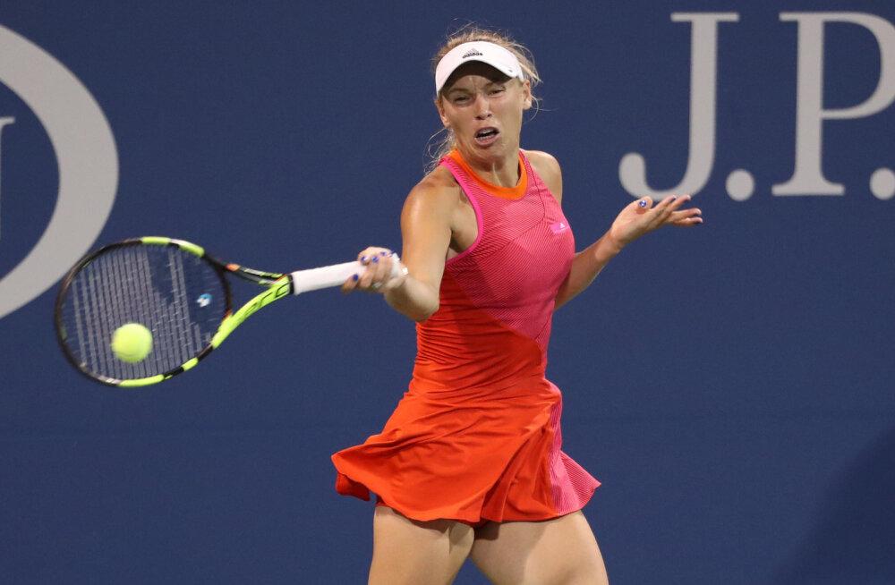 US Openilt välja langenud Wozniacki on vihane korraldajate ja Šarapova peale