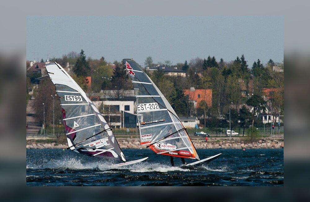 Nädalavahetusel võistleb Pirital purjelaua eksmaailmameister