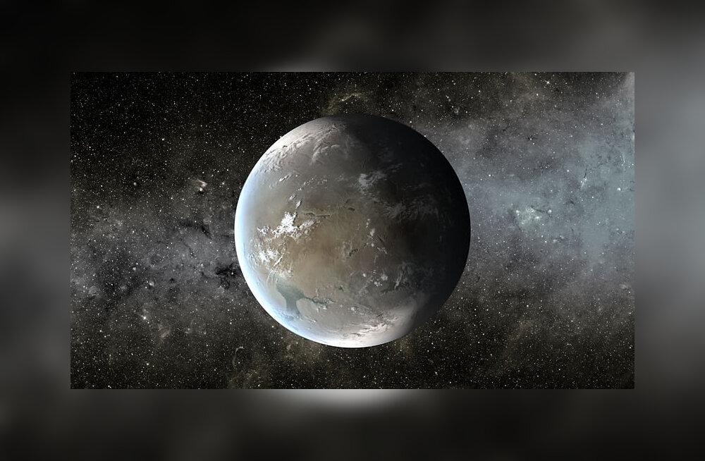 Elukõlbulikud planeedid asuvad Maast 1200 valgusaasta kaugusel