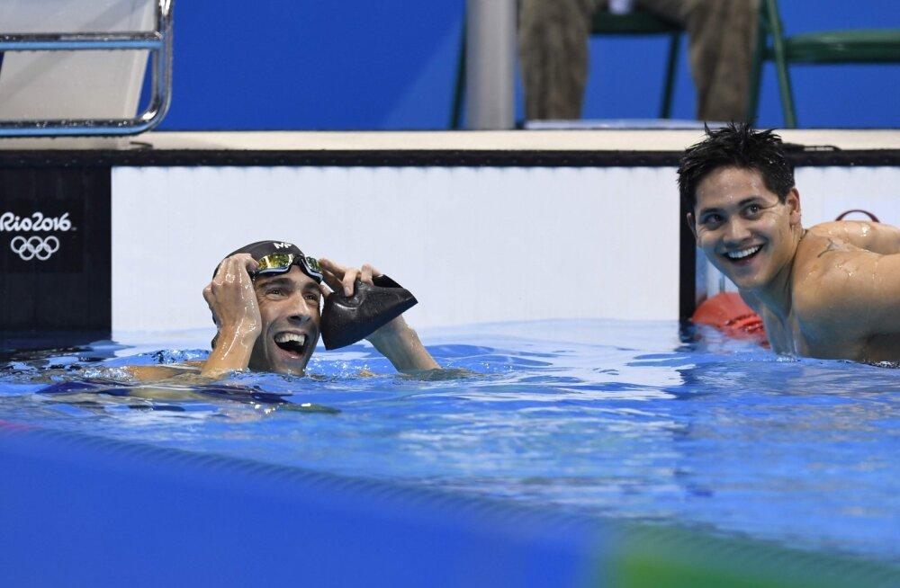 Michael Phelps ja Joseph Schooling
