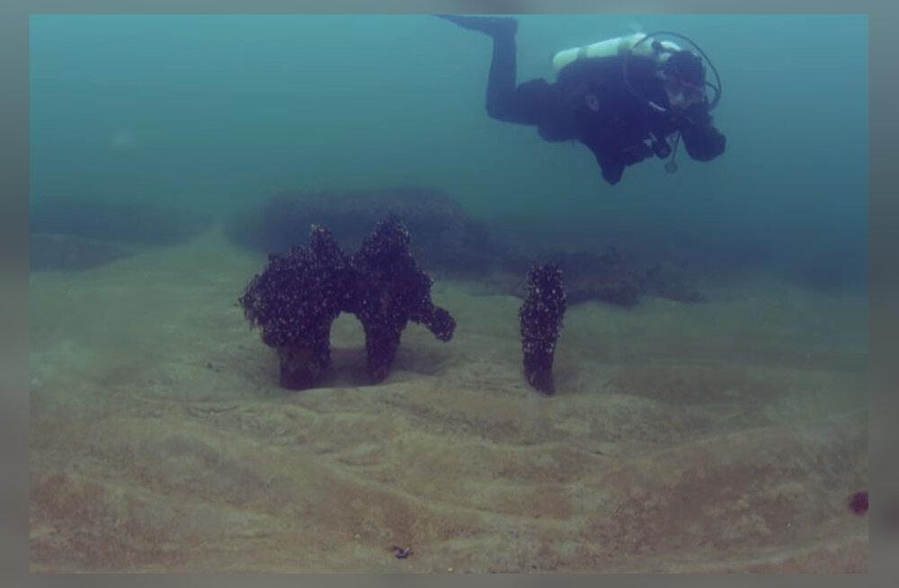 ВИДЕО: Затонувший в Балтийском море город