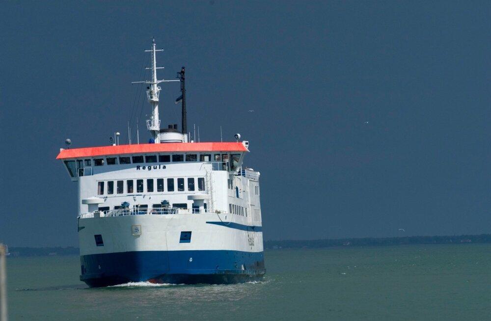 Regula teenib Leedole raha ka pärast laeva müüki riigifirmale