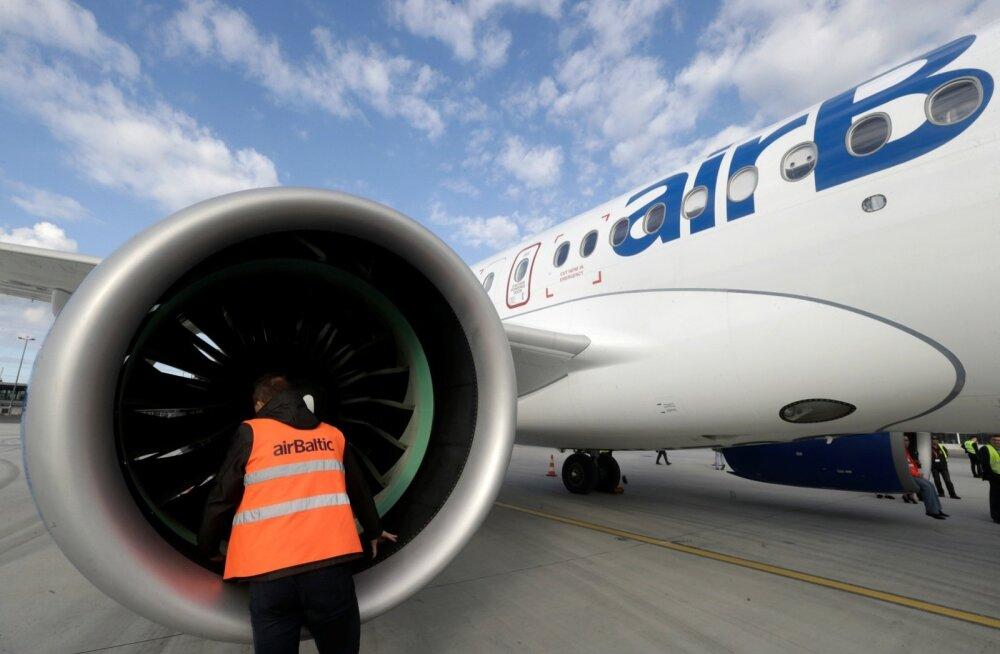 Osa tuleviku äriplaani vundamendiks olevaid uusi Bombardieri C-seeria lennukeid on airBaltic juba kätte saanud.