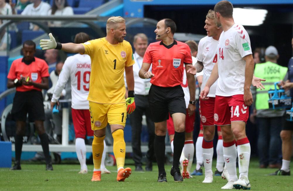 BLOGI | Jälle VAR! Jälle penalti! Taani ja Austraalia leppisid viiki, mõlemad säilitasid edasipääsuvõimalused