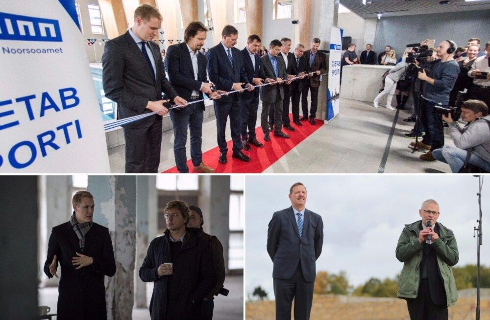 f04d074616f Tallinna linnajuhtide tööpäevad enne valimisi: ohtralt avamisi ja ...