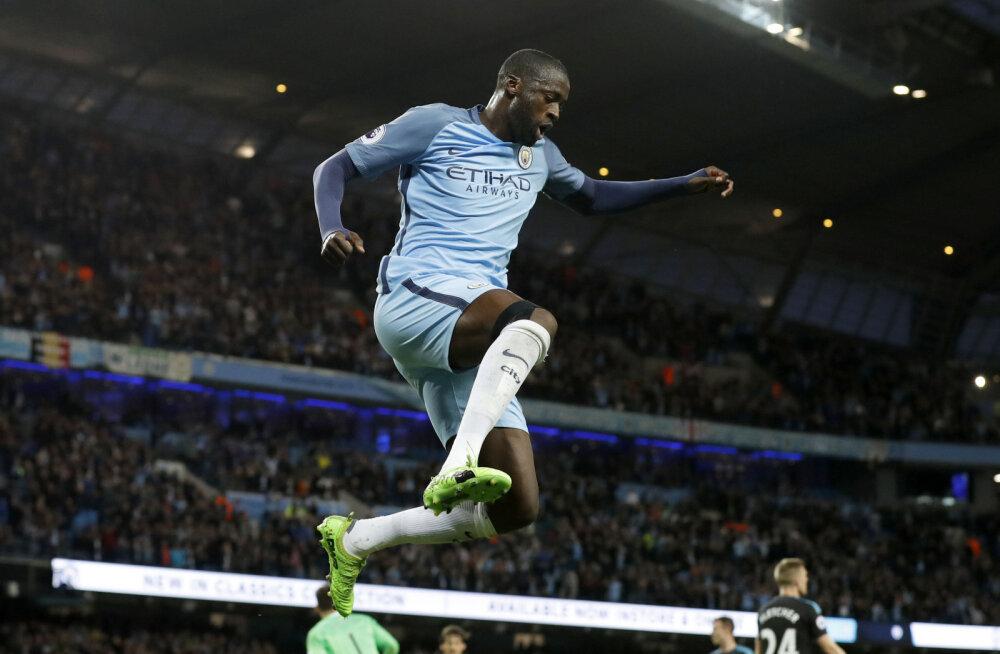 Yaya Toure sõlmis Manchester Cityga uue lepingu