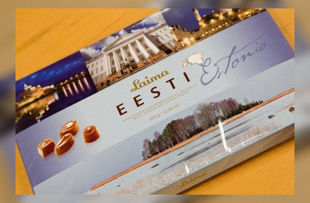 Laima assortii Eesti