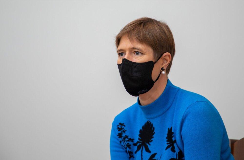 Koroonapuhangu kiuste: Kersti Kaljulaid käis aasta lõpus Šveitsis suusareisil