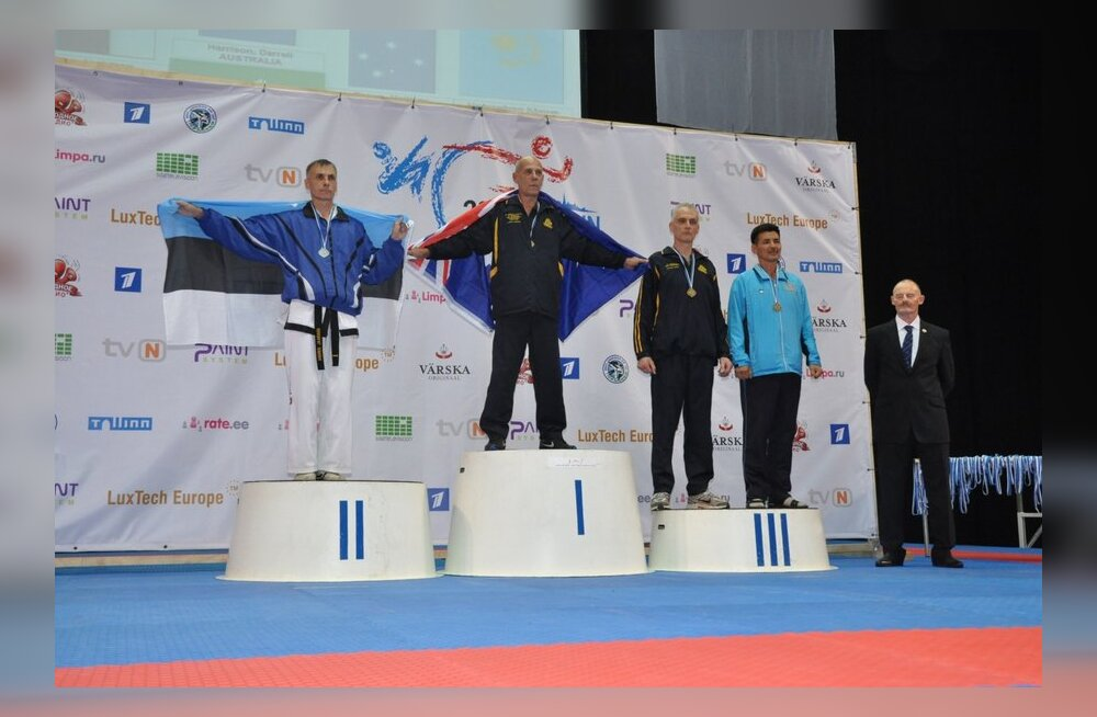 Lõppenud Taekwon-do maailmameistrivõistlused olid eestlastele edukad