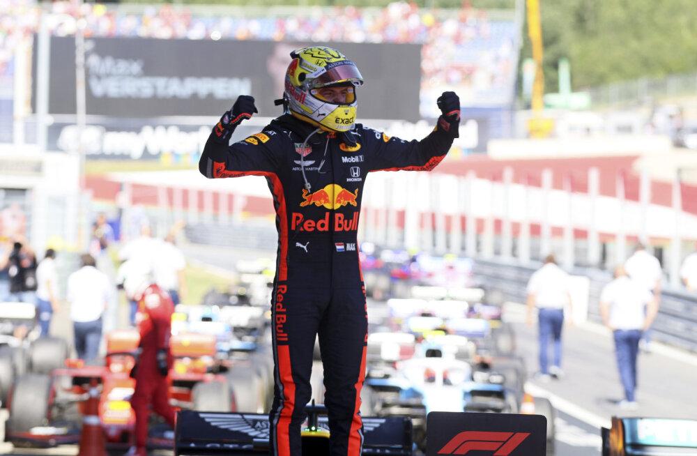 BLOGI | Verstappen möödus viimastel ringidel Leclercist, Mercedeste võiduseeria sai läbi!