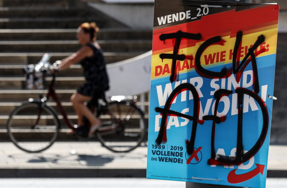 Parempopulistid saavutasid kahe Ida-Saksa liidumaa valimistel teise koha