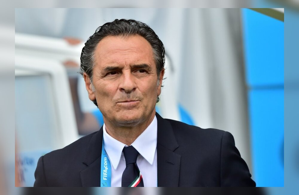 Itaalia peatreener Prandelli teatas oma tagasiastumisest: tehniline plaan ei töötanud