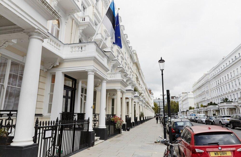 Kaljurand avas Londoni uue saatkonnahoone