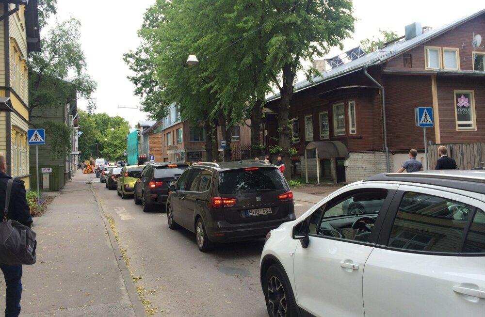 Homme ja ülehomme on Tallinna liiklus eesistumise tõttu häiritud