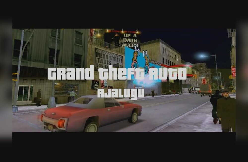 "HDTaneli suurprojekt: ülevaade tervest ""Grand Theft Auto"" sarjast"