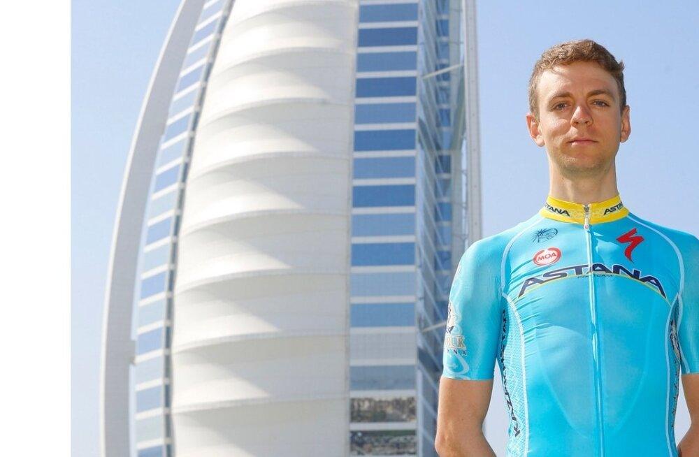 Tanel Kangert meeskonna esitlusel Dubais