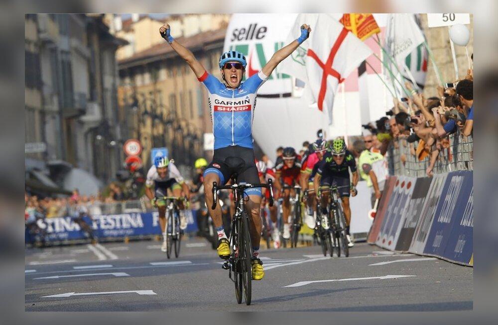 Dan Martin võidab Il Lombardia klassiku