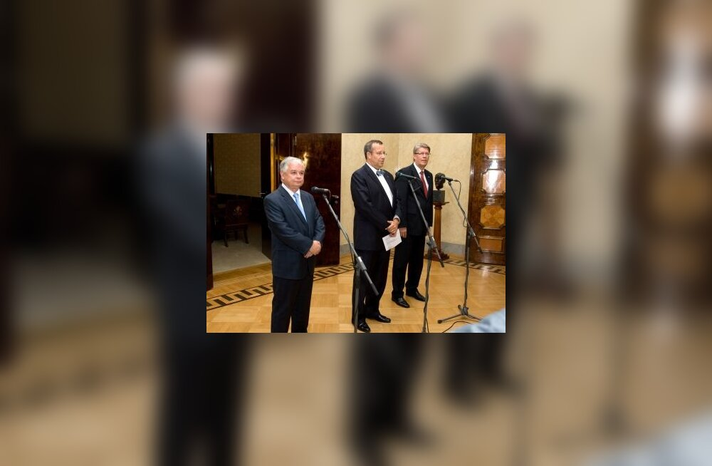 Toomas Hendrik Ilves, Lech Kaczynski, Valdis Zatlers