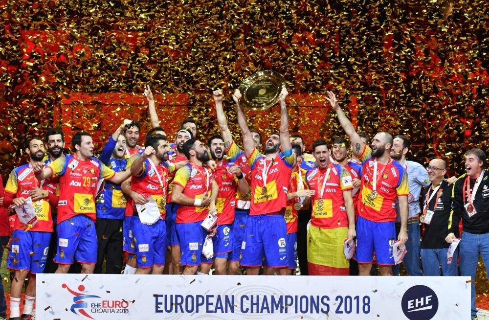 Käsipalli Euroopa meister Hispaania