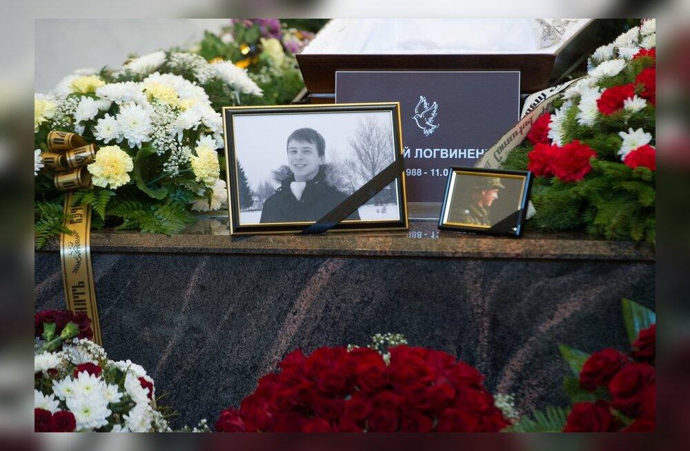 FOTOD: Täna maeti hukkunud ajateenija Aleksei Logvinenko