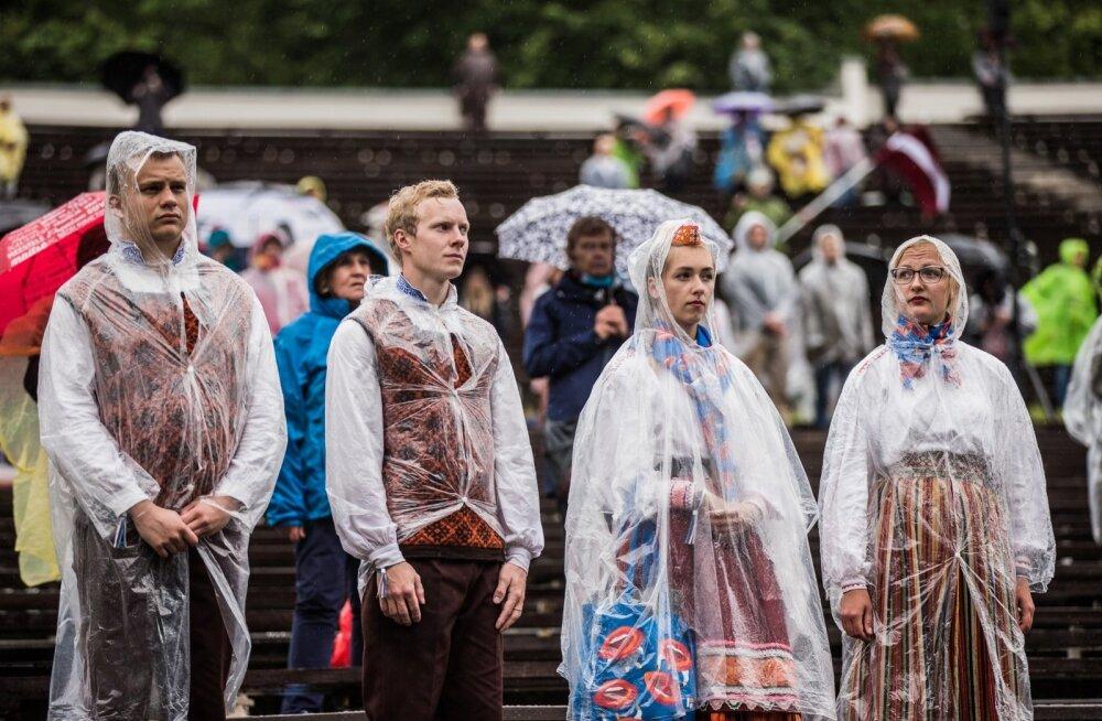 Üliõpilasfestival Gaudeamus 2018 rongkäik ja laulupidu