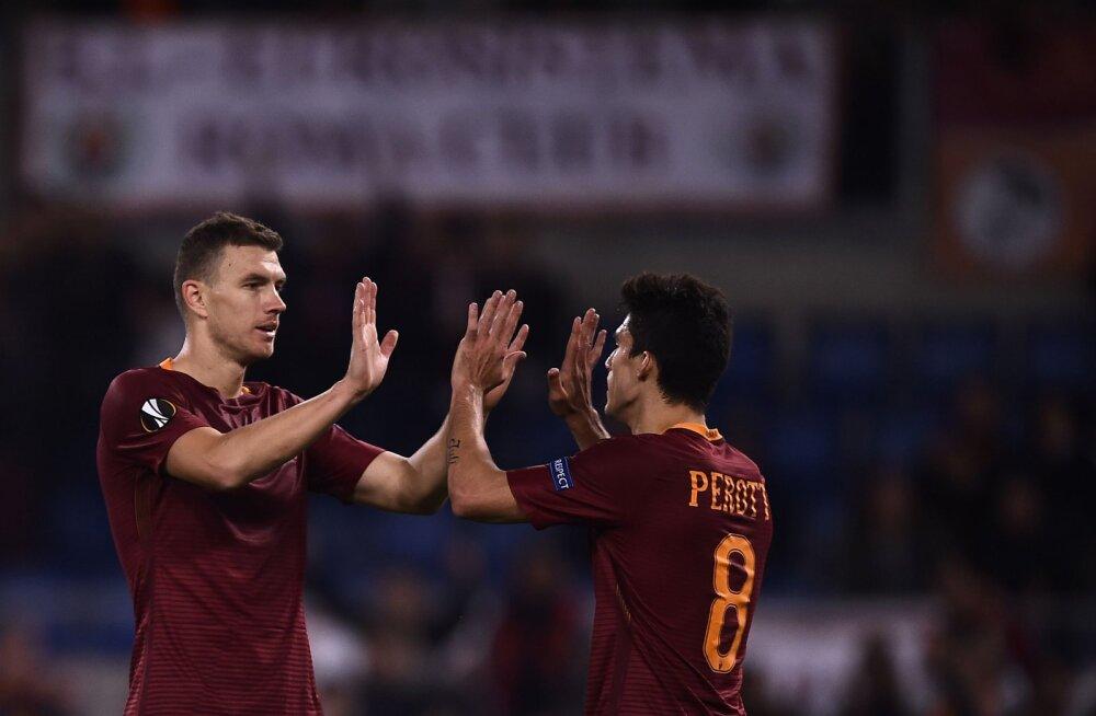 VIDEO: AS Roma poolkaitsja lõi Euroopa liigas tõelise iluvärava!