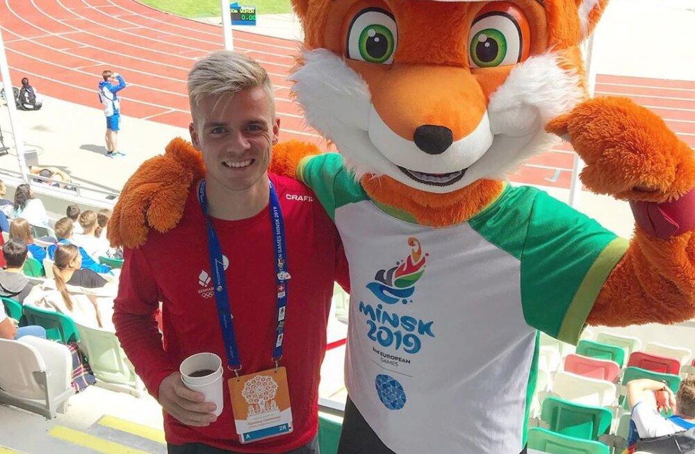 Täielik muinaslugu: Taani sprinter pidi Euroopa mängudel ootamatult võistlema hoopis kõrgushüppes... ja pani võistluse Bondarenko ees kinni!