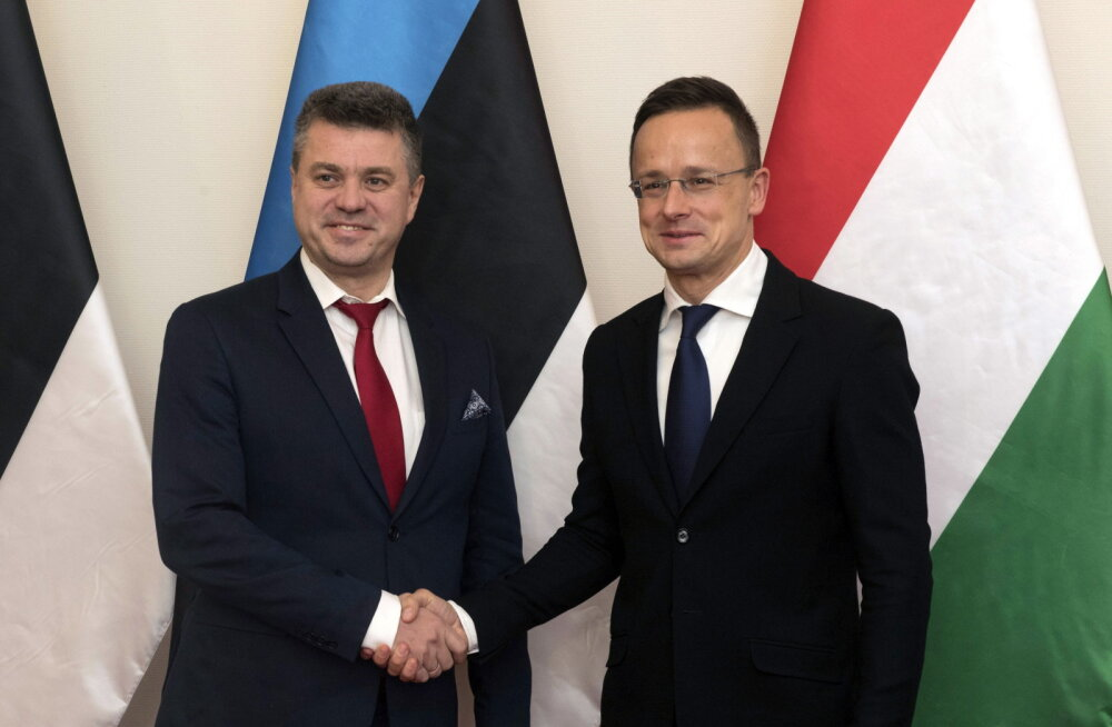 Ungari välisminister kohtumisel Reinsaluga: Eesti ja Ungari peavad ÜRO rändepaketti ohtlikuks