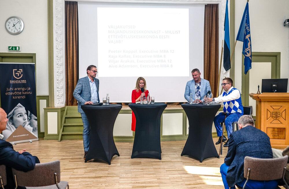 EBS vilistlased pakkusid lahendusi Eesti majanduse elavdamiseks. Taxify kaasasutaja: Eesti haridussüsteem on väga halvas seisus
