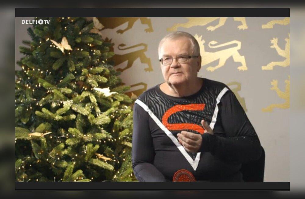 Edgar Savisaar jõuluklipis