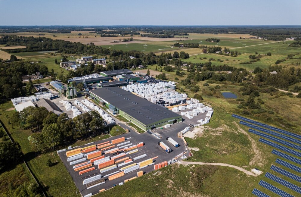 Palmako tootmiskompleks Kavastus laiub vähemalt kümnel hektaril.
