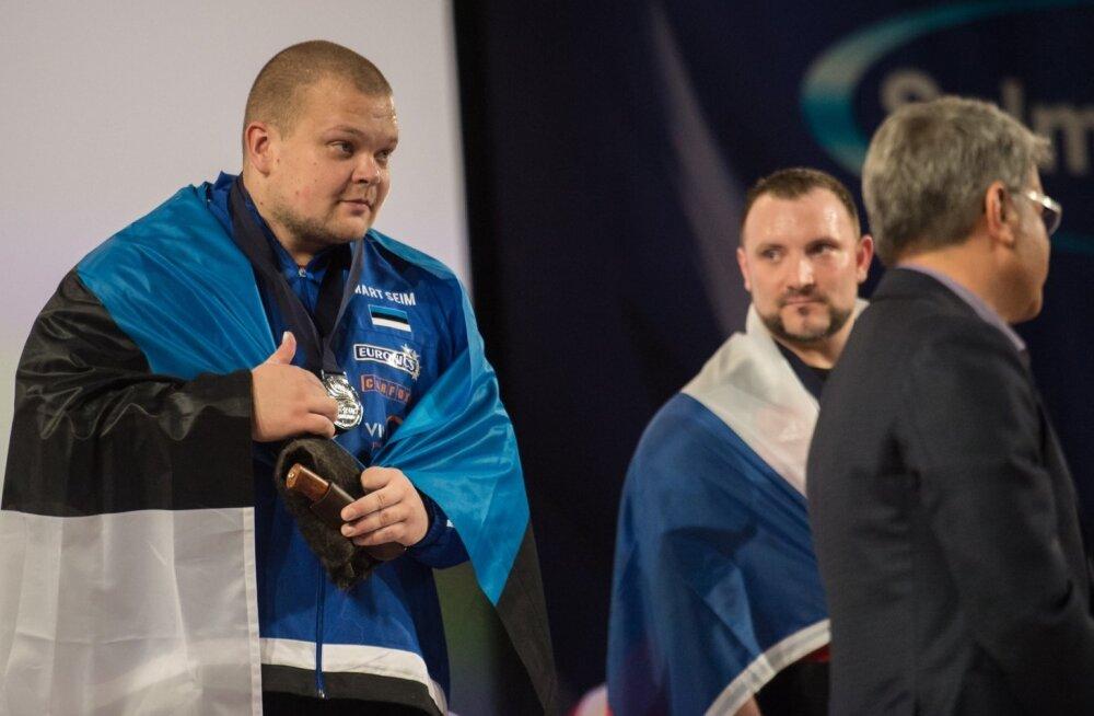 Mart Seim on Eestile toonud kokku seitse medalit: kaks suurt ja viis väikest.